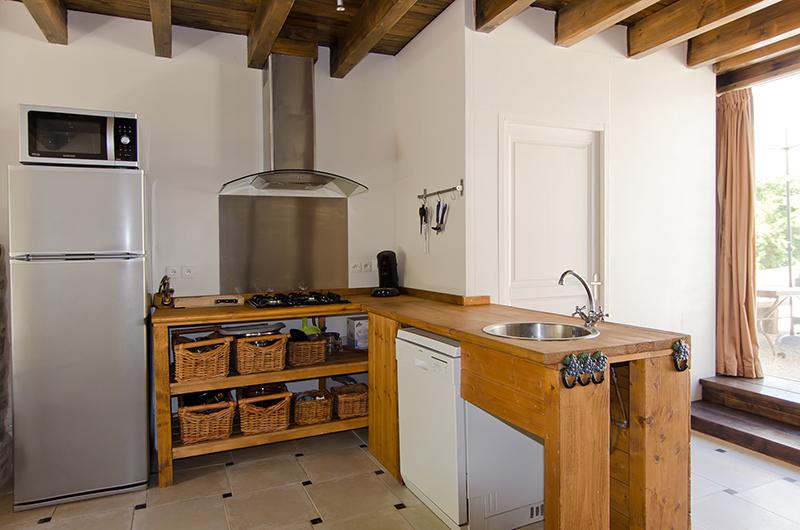 Vakantiehuis normandi la bastide - Open keuken op verblijf ...