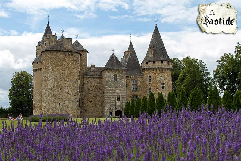 Kastelen in de Limousin