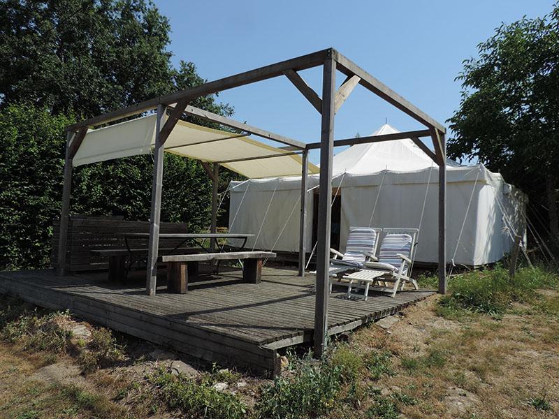 Safari tents persons la bastide