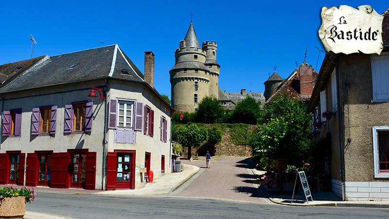 Surrounding La-Bastide, Limousin France.