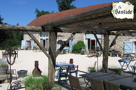 La-Bastide's luxurious and big Holiday homes in Limousin, France.