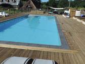 Zwembad vakantie domein La-Bastide