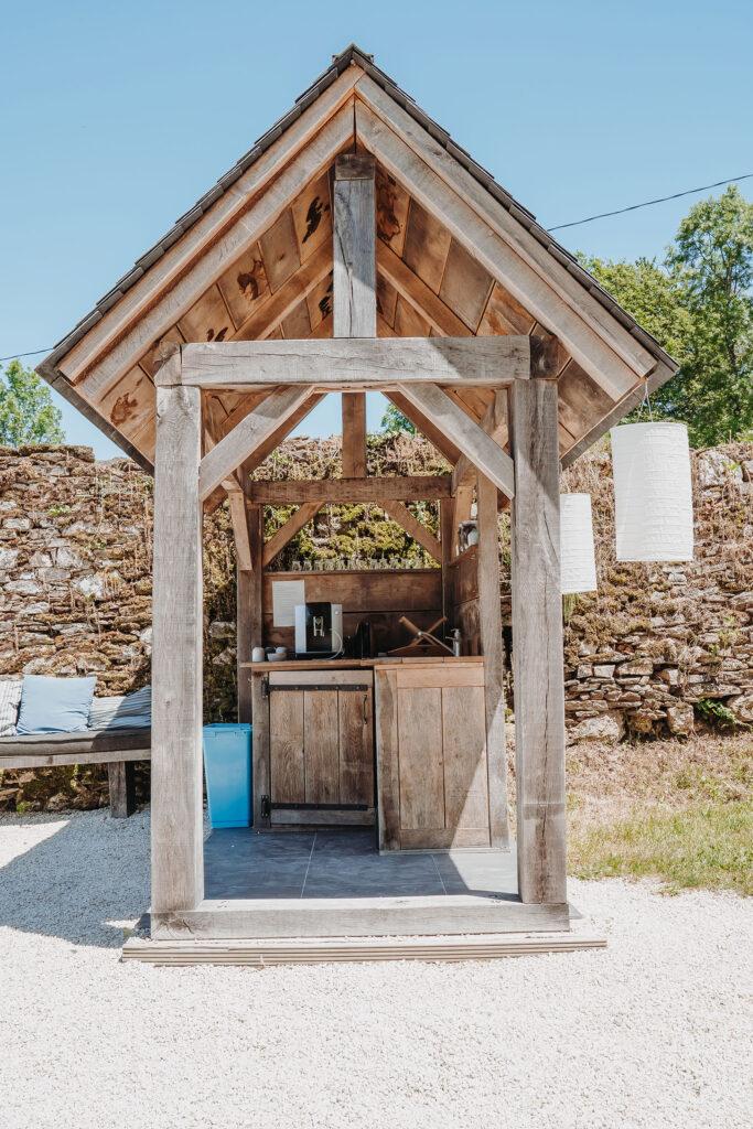 Eten en Loungen La-Bastide koffiehuisje pak je ver gemalen koffie wanneer je maar wilt