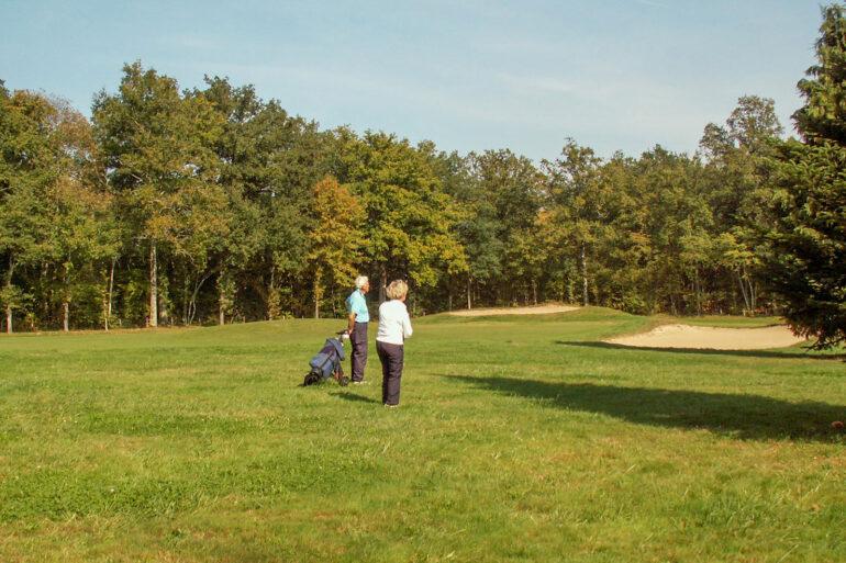Golf in Frankrijk sportactiviteiten in de natuur op de golfbaan in Haute-Vienne Nouvelle-Aquitaine