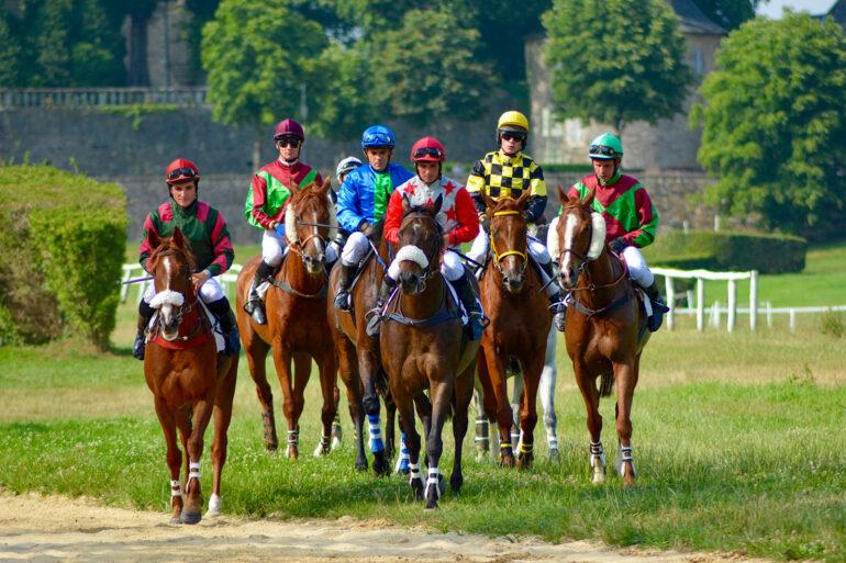 Paardrijden in Frankrijk sportactiviteiten paardensport in Pompadour