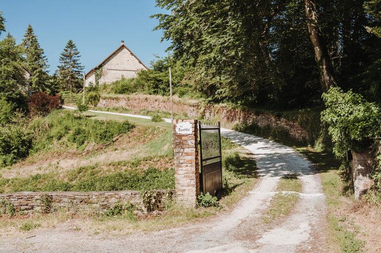 Routebeschrijving La-Bastide oprit vakantiebestemming bereikt