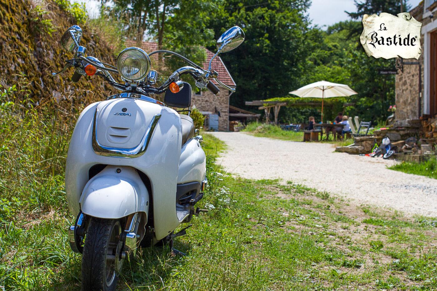 Routebeschrijving La-Bastide scooter vakantiedomein