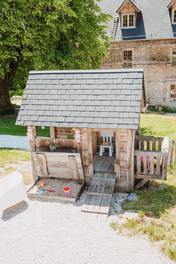 Spelen La-Bastide speelhuisje voor de allerkleinste bewoners van het vakantiedomein