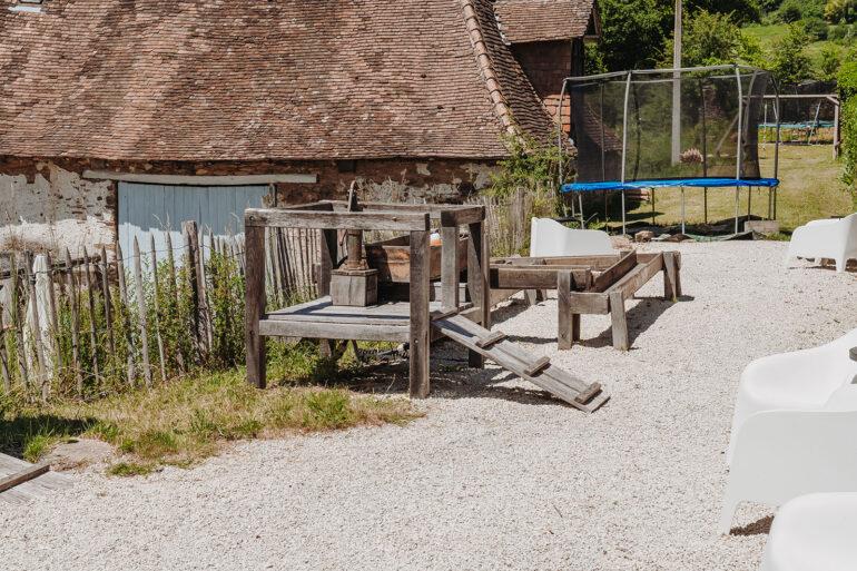 Spelen La-Bastide waterspeelbaan