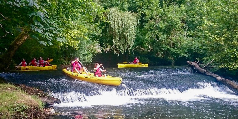 Sportactiviteiten kanoën suppen waterfietsen in Nouvelle-Aquitaine Limousin