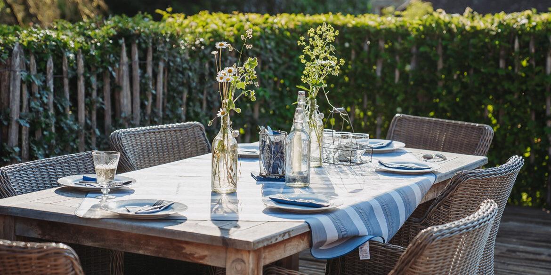 Table d'hôtes en La-Bastide: Restaurant à la maison