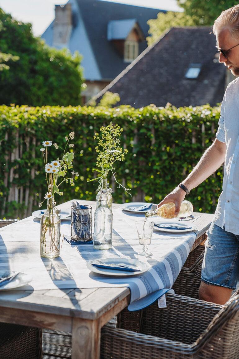 Table d'hôtes La-Bastide restaurant à la maison