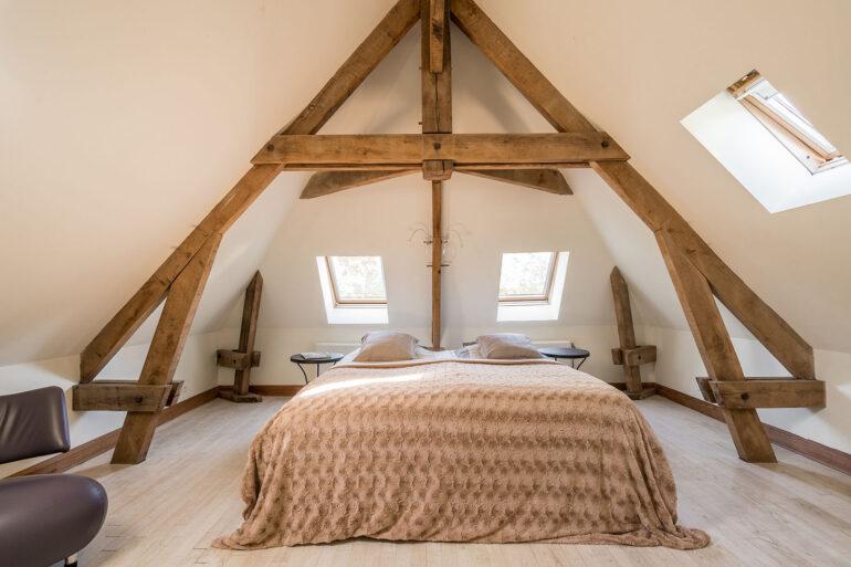 Vakantiehuis Haute-Vienne La-Bastide slaapkamer het lijkt wel een suite zo ruim