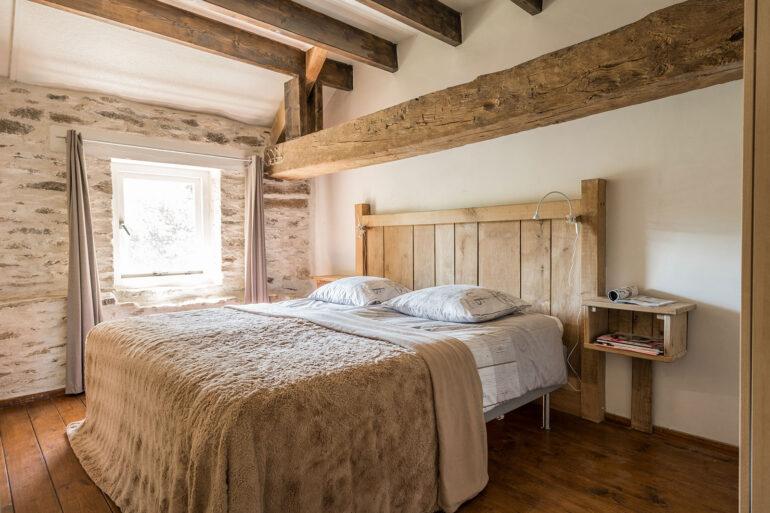 Vakantiehuis Normandië La-Bastide slaapkamer achterkant