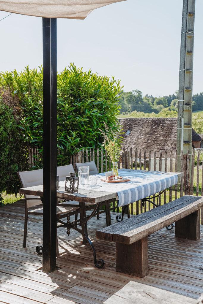Vakantiehuis Provence La-Bastide terras heerlijk tafelen