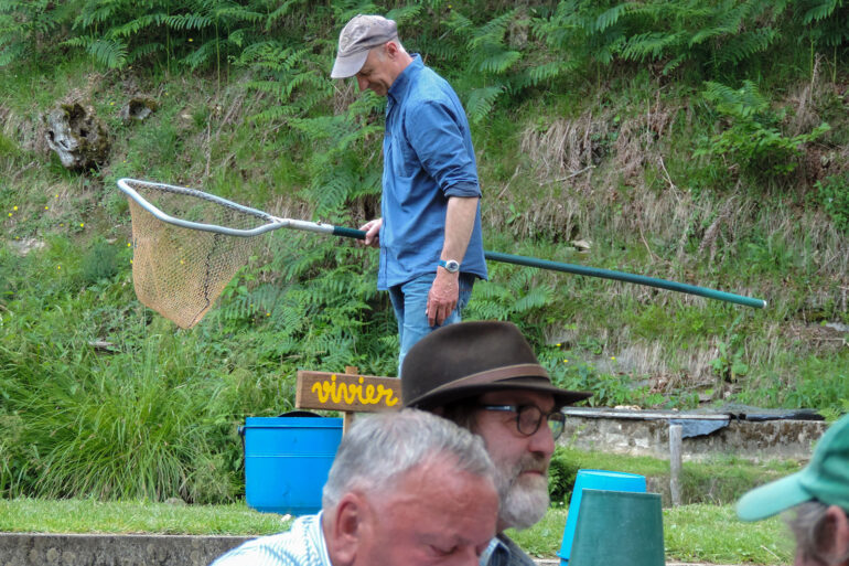 Vissen in Frankrijk Haute-Vienne sport visser