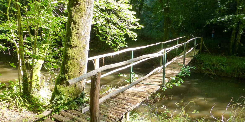 Wandelen in de Haute-Vienne regio Nouvelle-Aquitaine