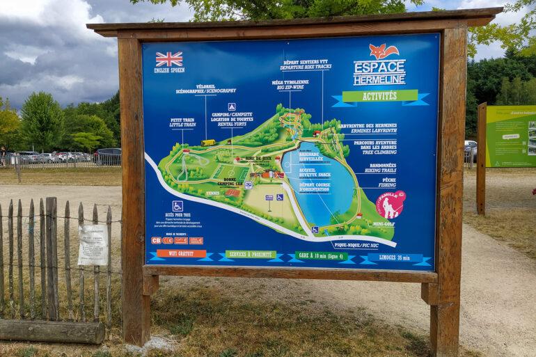 Activiteiten La-Bastide avonturenpark Espace Hermeline
