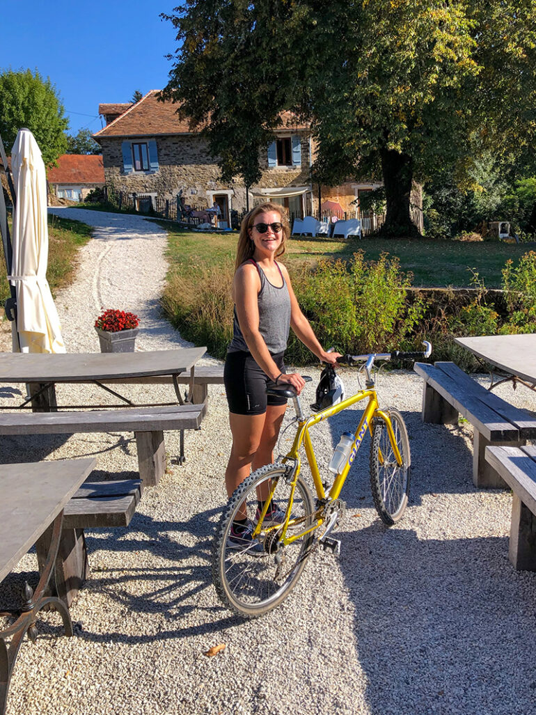 Activiteiten La-Bastide fietsen tijdens vakantie in Frankrijk