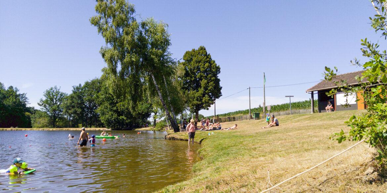 Activiteiten La-Bastide zwemmen in zwemmeer of zwembad tijdens je vakantie in de Haute-Vienne