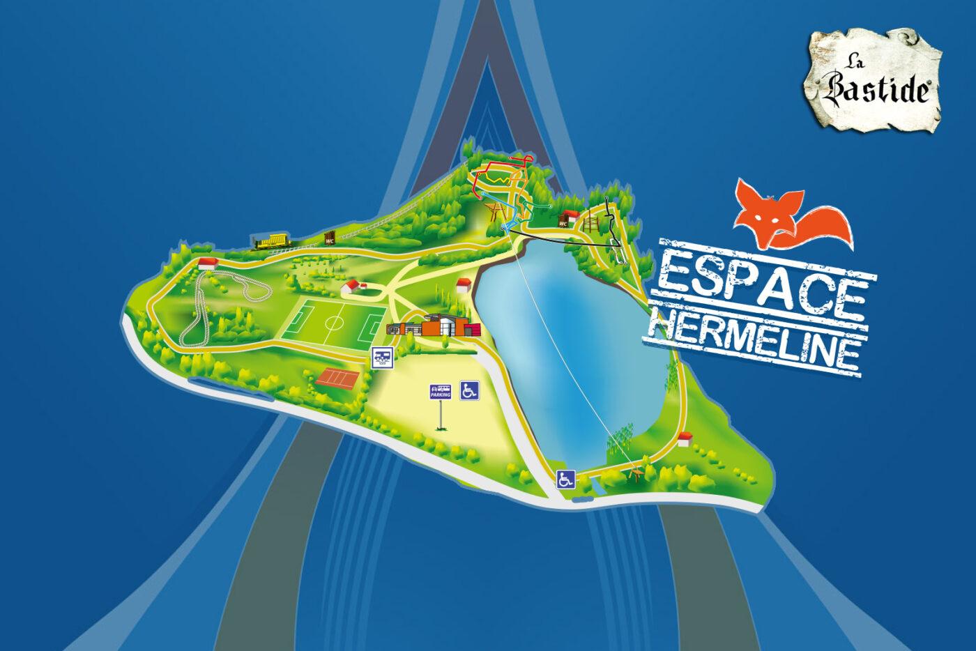 Espace Hermeline een recreatie- en avonturenpark!
