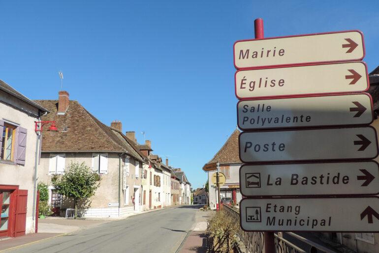 Omgeving La-Bastide Coussac-Bonneval Haute-Vienne