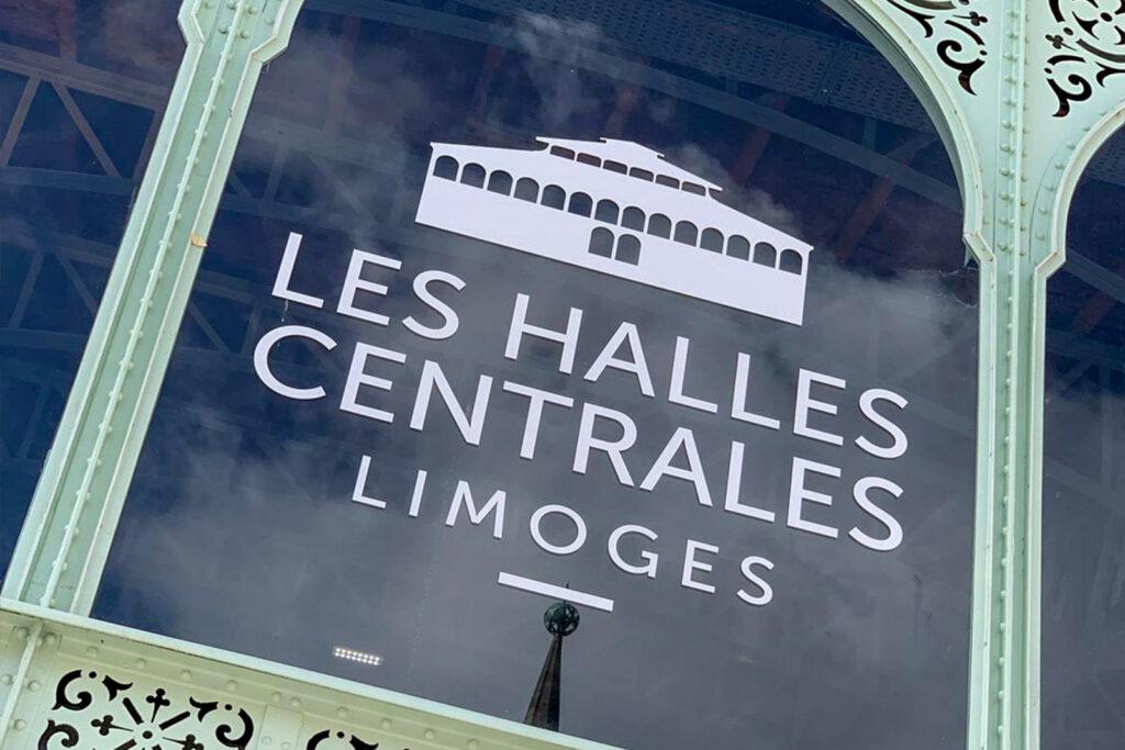 Omgeving La-Bastide Limoges hoofdstad les halles