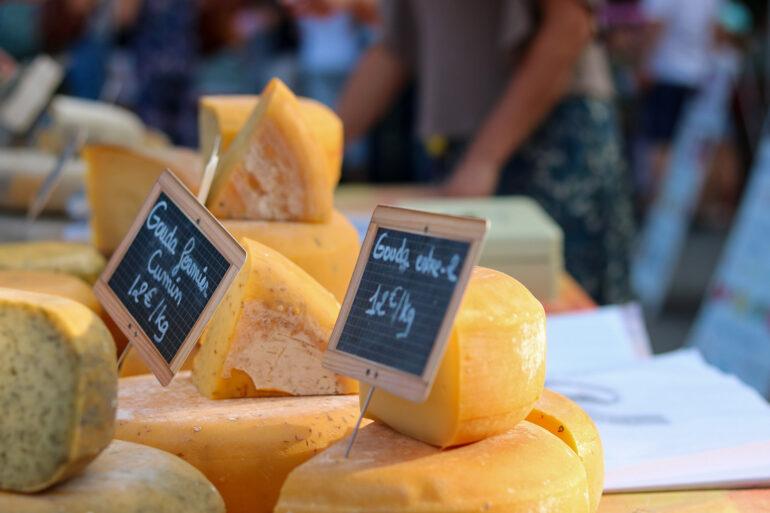 Omgeving La-Bastide markten marche de producteurs