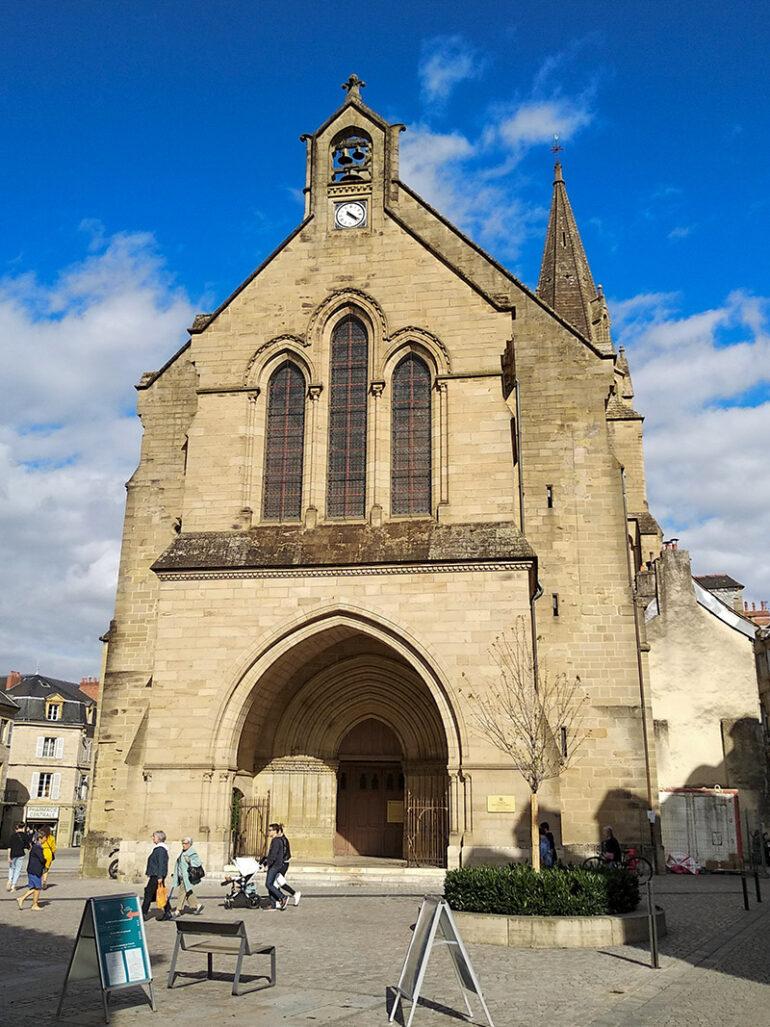 Omgeving La-Bastide steden Brive cathedral