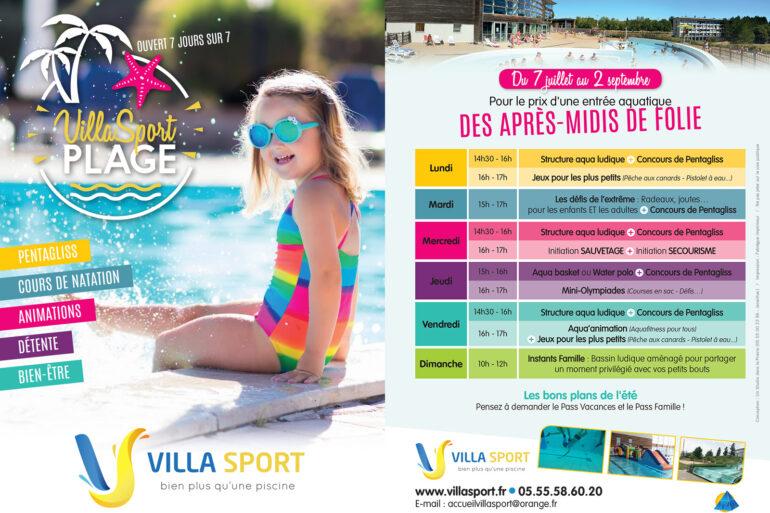 Overdekt zwembad Villasport